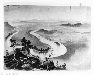 The Chattanooga Valley Sketched from Lookout Mountain after Sherman's Victory