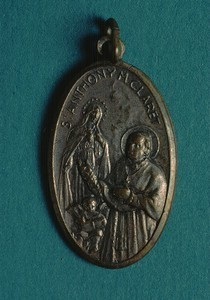 Medal of St. Anthony Mary Claret