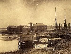 Bay State Company's Works, from sewer embankment