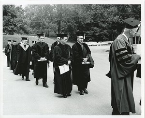 Honorary degree procession