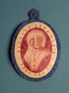 Badge of Blessed Anna Maria