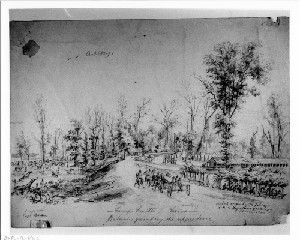 Camp Smith, Cairo, Illinois - Batteries Guarding the Upper Levee