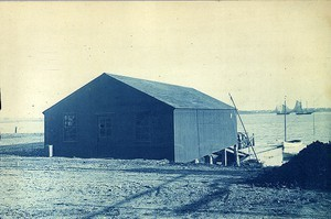 Building of the Commercial Point Boat and Reading Club