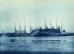 Schooners at Commercial Point