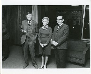 Auden, W. H. (Wystan Hugh) with Dr. and Mrs. Hirsh