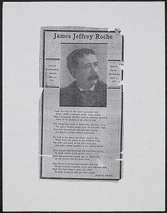 James Jeffrey Roche tribute by Joseph Smith, undated
