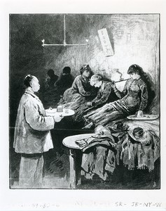 Women in an Opium Den, New York