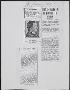 James Jeffrey Roche newspaper clippings, Boston Journal, April 4, 1908