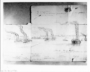 Attack on Rebel Fort on the Tennessee Shore