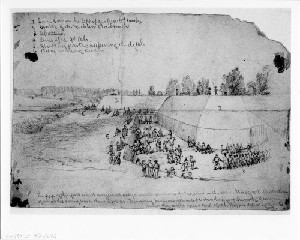 Siege of Petersburg - Large Fort on the Left of Our Lines