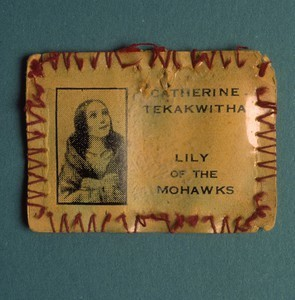Badge of Catherine Tekakwitha