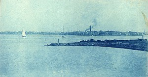 Neponset; from east of carpenter shop