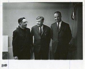 Auden, W. H. (Wystan Hugh) for class of 1965 with Francis Sweeney and John L. Mahoney