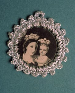 Badge of the Blessed Virgin Mary and the Child Jesus