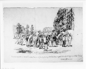 Siege of Petersburg - Excitement in Our Lines over News of the Fall of Atlanta