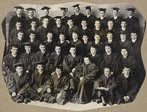 Class of 1913 - first class to graduate from Chestnut Hill