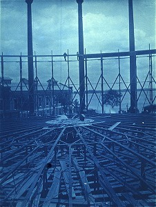 Framing of inner section of gasholder