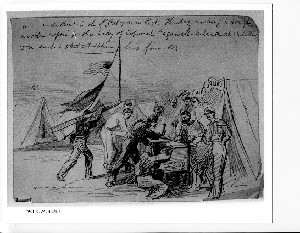 An Incident in the 1st California Regt