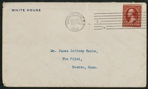 Letter, October 27, 1901, Theodore Roosevelt to James Jeffrey Roche