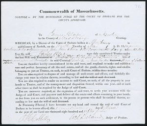 The Robert E. Brooker III Collection of American Legal and Land Use Documents, 1716-1930