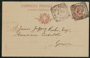 Letter, approximately 1905, William Dean Howells to James Jeffrey Roche