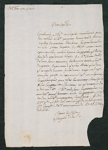 Joseph Vidal to Francisco García, Mexico