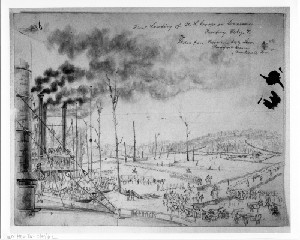 The First Landing of U.S. Troops in Tennessee