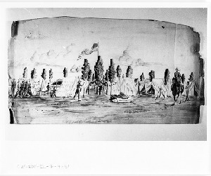 The Twelfth Regiment at Camp Defiance, Fourth of July 1861