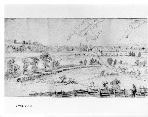 The Advance of the Union Lines Against Petersburg, VA.