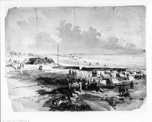 View of Our Works Looking towards Wilmington (Capture of Wilmington)