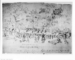 Battle of Grand Coteau, Louisiana - Furious Attack of the Rebels