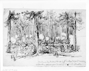 Siege of Petersburg - Attack on the Fifth Corps Picket Line