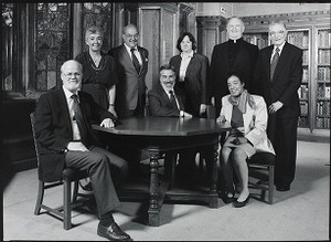 Boston College deans including Father Barth