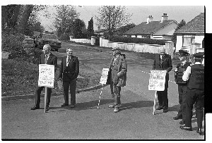 UUP protest in Co. Down, against Margaret Thatcher and the Anglo Irish Agreement