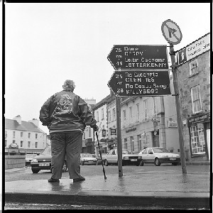Irish/American member of the A.O.H. in Donegal Town