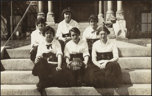 Howard High School 1914 girls basketball team