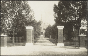 Howard High School gate