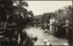 Town River looking east with Canoe Club in right background