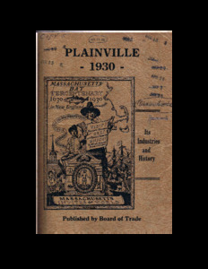 Plainville 1930 : its industries and history