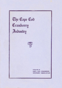 The Cape Cod cranberry industry