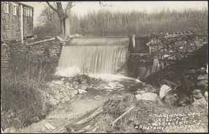 Old saw mill dam