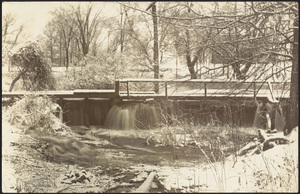 Spillway at Town River dam