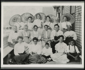 Ladies with Parasols, Halifax, Massachusetts