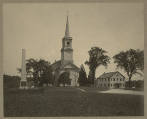 Congregational Church and original Meeting House, Halifax, Massachusetts