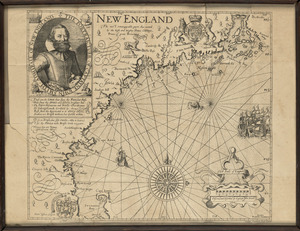 Map of New England, 1614