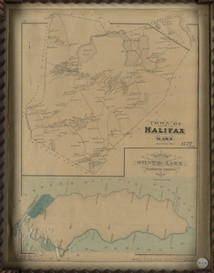 1879 Map of Halifax, Massachusetts