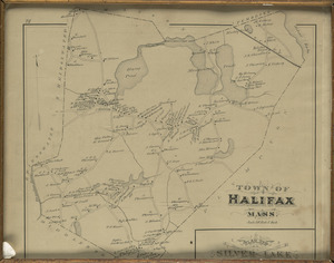1879 Map, Halifax, Massachusetts