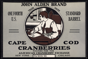 Carver Public Library Cranberry Label Collection