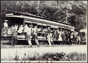 Car #10 at Lake Pearl Spur