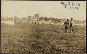 Encampment, 1909, Halifax, Massachusetts